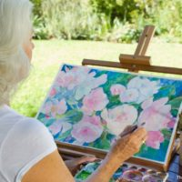 See artists at work at the Addison Art Gallery