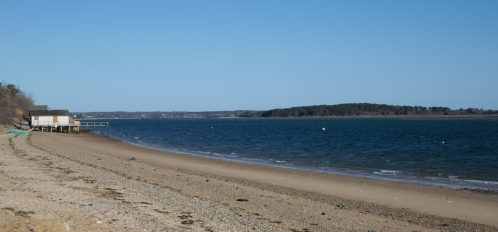 Chatham beach shoreline