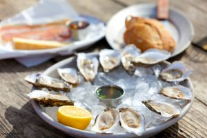 Enjoy oysters at the Wellfleet Oyster Festival