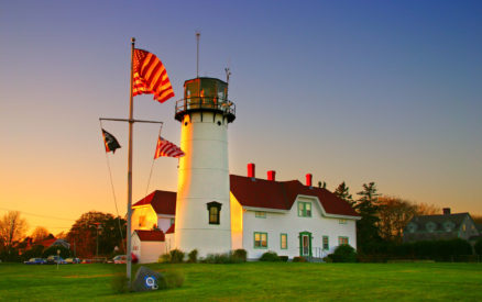 chatham lighthouse is one of the best things to do in chatham, on cape cod