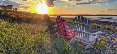 Cape Cod Beach at Sunset | Things to Do in Chatham in June